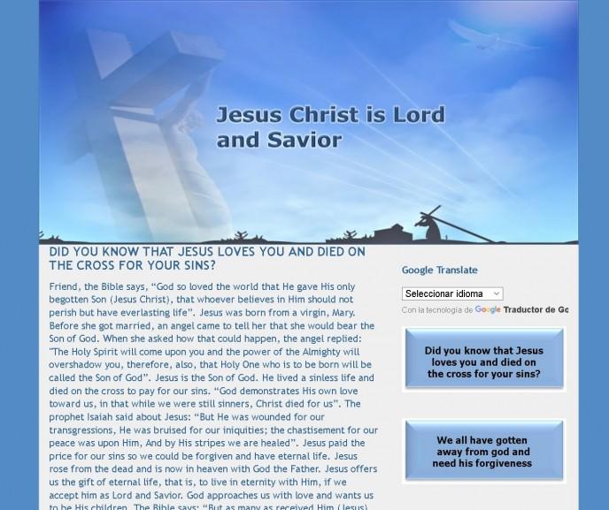 Web Cristo-Viene en Ingles!